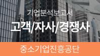 기업분석보고서 4. 중소기업진흥공단, 고객/자사/경쟁사를 분석해보자.