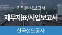 기업분석보고서 3. 한국철도공사, 올해 사업전략은 무엇인가?