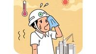 """폭염 속, 생산물류 알바생 54% """"찜통 근무"""""""