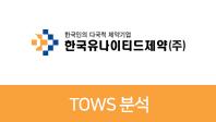 기업분석보고서 5. 한국유나이티드제약, 기회요인과 위협요인은 무엇인가?