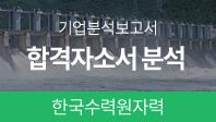 기업분석보고서 6. 한국수력원자력, 합격자소서는 왜 합격했을까?