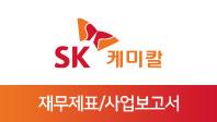 기업분석보고서 3. SK케미칼, 올해 사업전략은 무엇인가?
