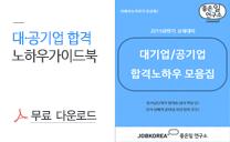 대기업.공기업 합격노하우 - 무료다운로드
