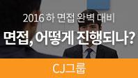 2016 면접완벽대비(CJ그룹 편)