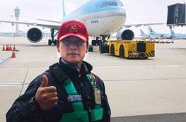 비행기의 안전한 이착륙을 책임지는 램프마스터