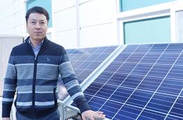 태양광발전소의 설계부터 안전관리까지 담당하는 태양광발전 설계사