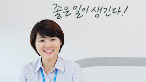 잡코리아 인사총무팀 김양희 부장