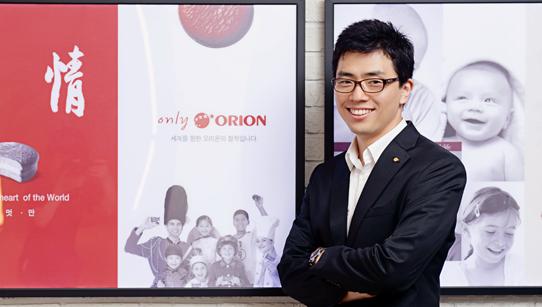 오리온 경영전략부문 전략기획팀 우윤기 사원