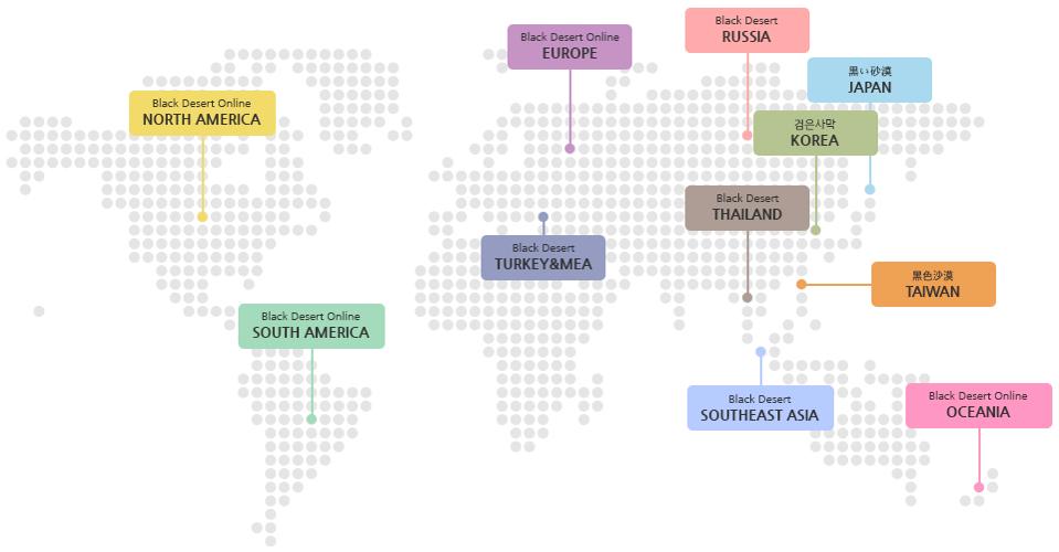 EUROPE, RUSSIA, CHINA, TAIWAN, JAPAN, KOREA, NORTH AMERICA