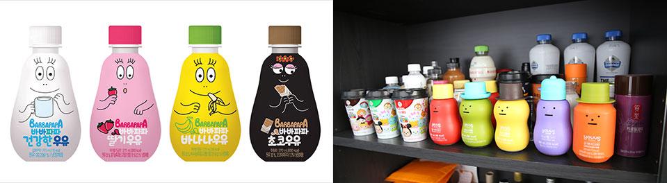 바바파파 우유 사진