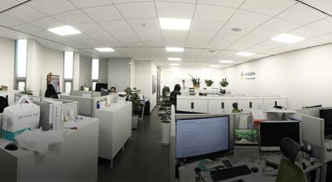 깨끗하고 쾌적한 사무공간 사진