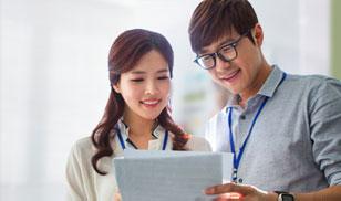 IT 업계 주요 기업의 채용정보를 담은 전문 채용관