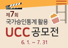 2020 제7회 국가승인통계 활용 UCC 공모전 이미지