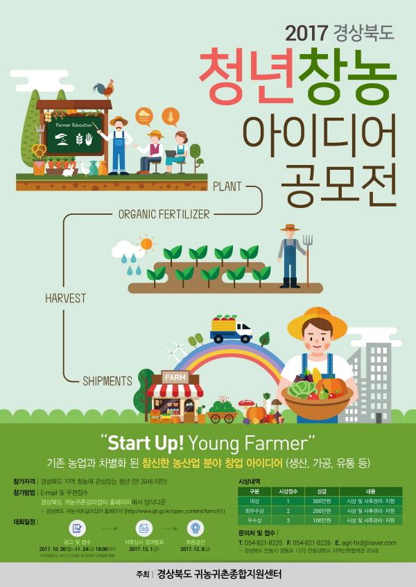 2017 경상북도 청년창농 아이디어 공모전