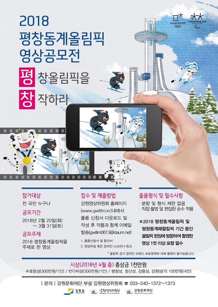 2018 평창동계올림픽 영상공모전