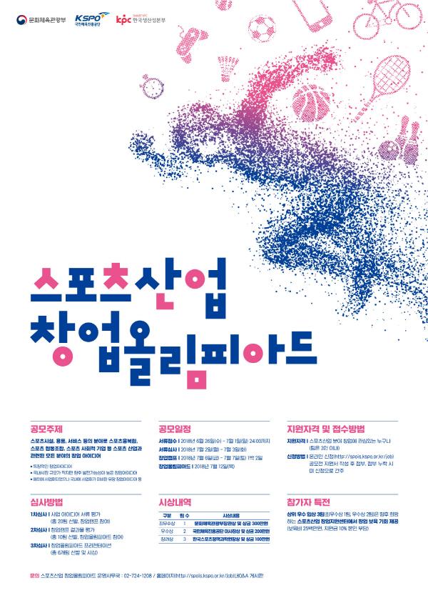 2018년 스포츠산업 창업 올림피아드