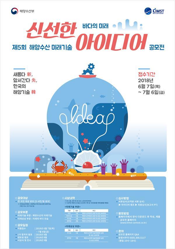 제5회 해양수산 미래기술 아이디어 공모전