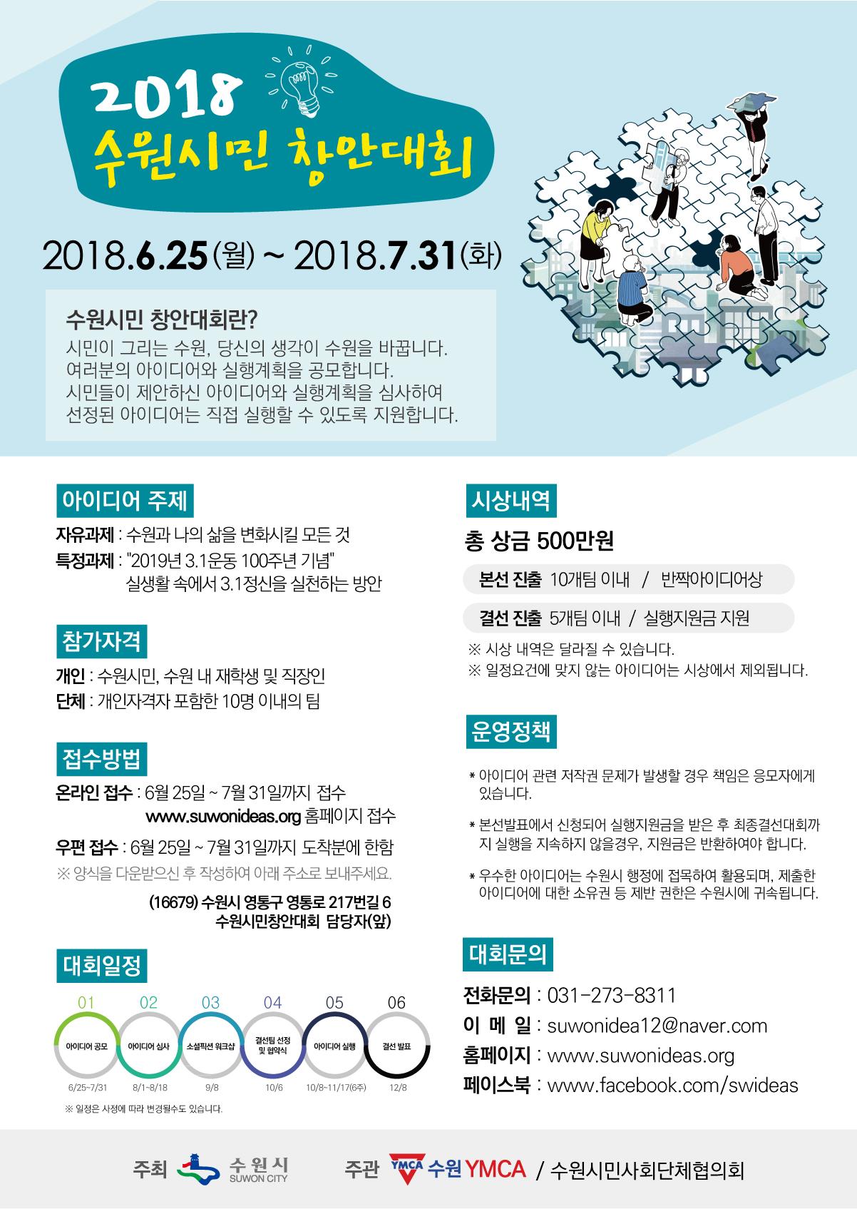 2018 수원시민창안대회