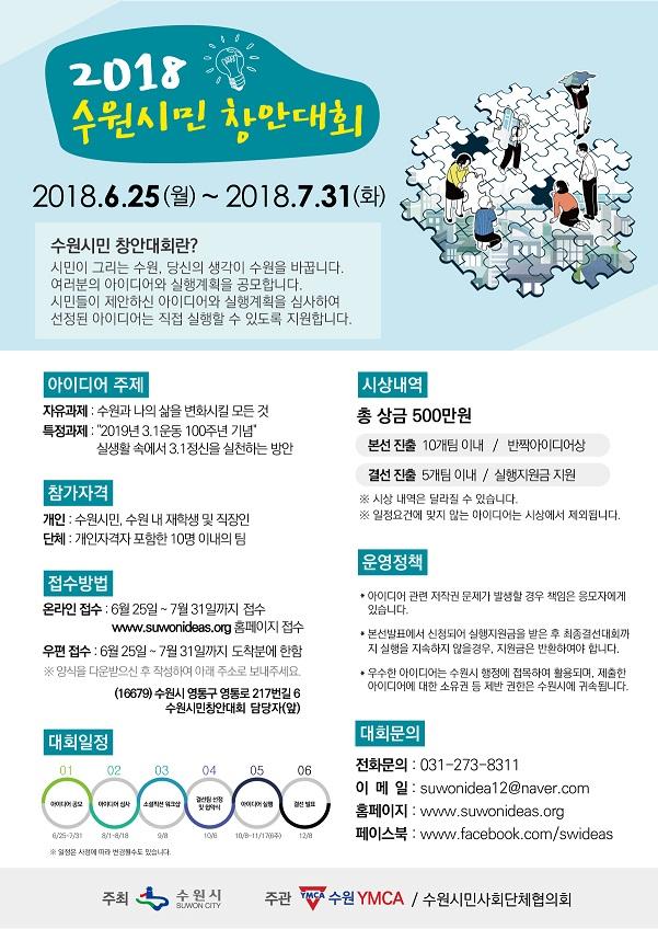 2018 수원시민 창안대회