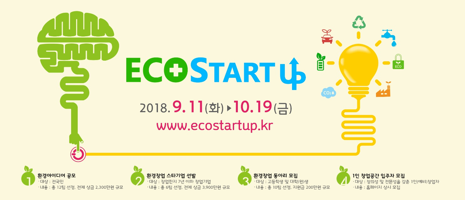 ECO STARTUP 환경창업대전2018