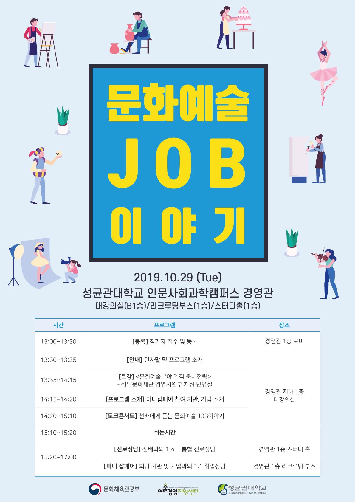 2019 제 2차 문화예술 JOB 이야기