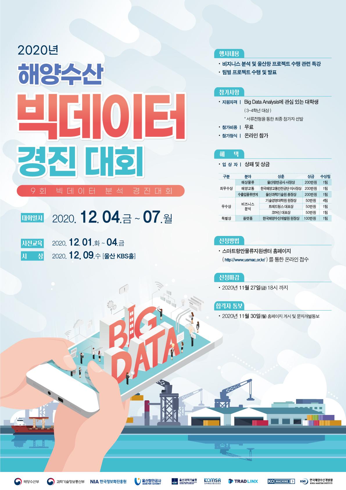 2020년 해양수산 빅데이터 경진대회