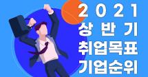 2021년 상반기, 신입직 구직자가 꼽은 취업목표 기업 1위는?
