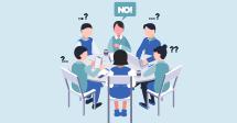 습관적으로 'No'를 말하는 직원과 함께 일하는 법